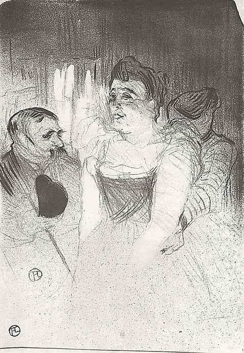 Анри де Тулуз-Лотрек. Анна Жюдик