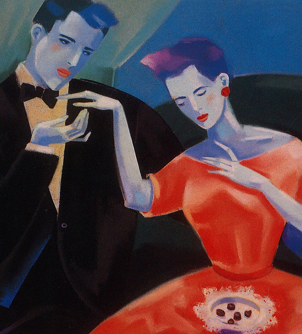 Patty Dryden. The lady and the gentleman