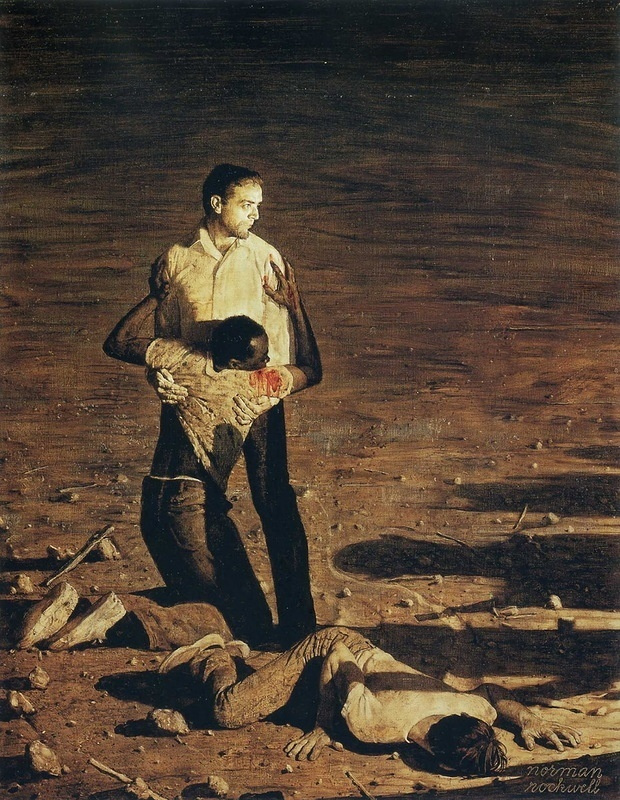 Норман Роквелл. Южное правосудие. Убийство в Миссисипи