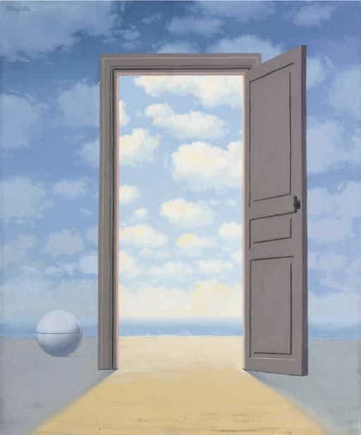 René Magritte. Украшенный
