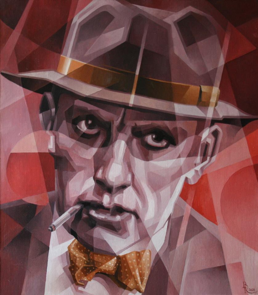 Vasily Krotkov. Revolutionary of the spirit. Post-cubo-futurism