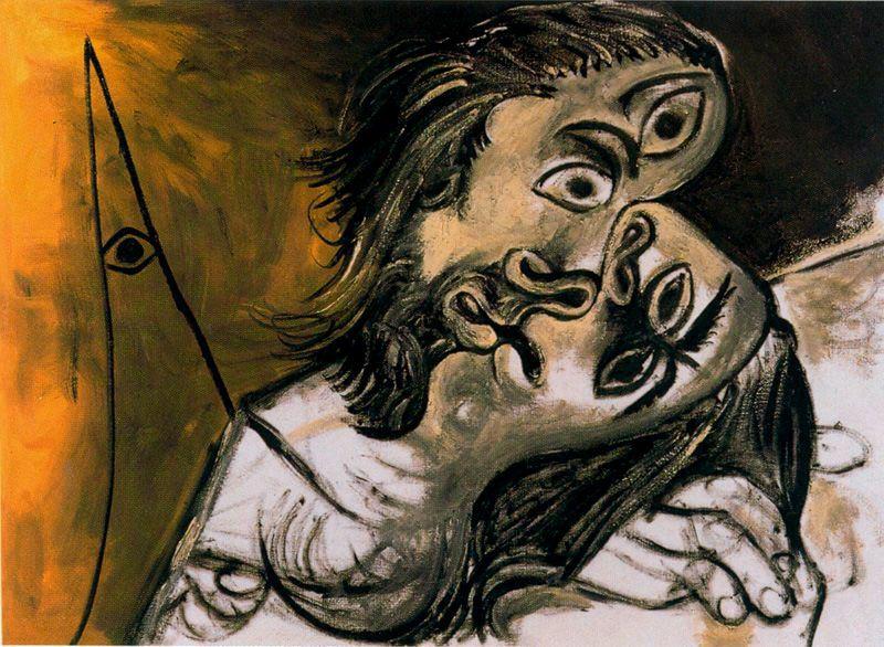 Пабло Пикассо. Поцелуй 2