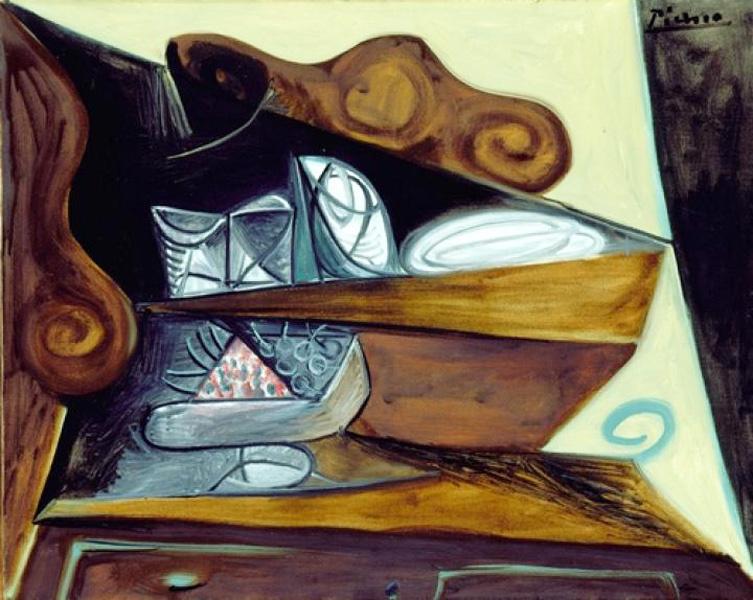 """Пабло Пикассо. Буфет в """"Каталонце"""""""