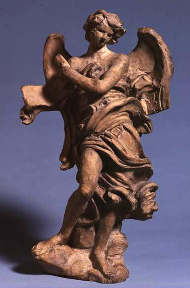 Джованни Лоренцо Бернини. Ангел со свитком