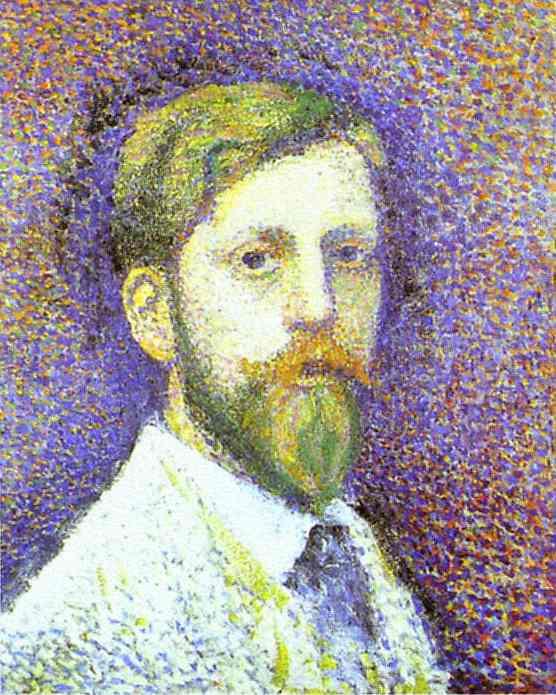 Жорж Леммен. Портрет мужчины