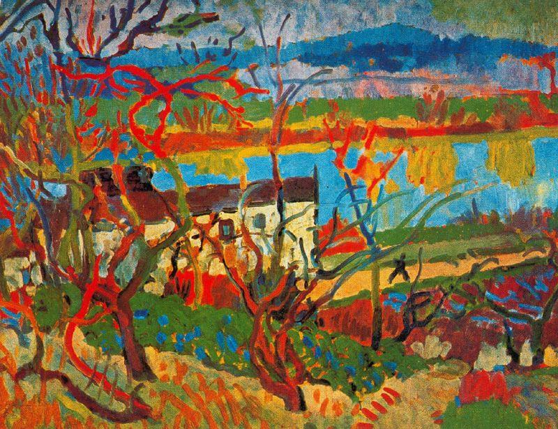 Andre Derain. River