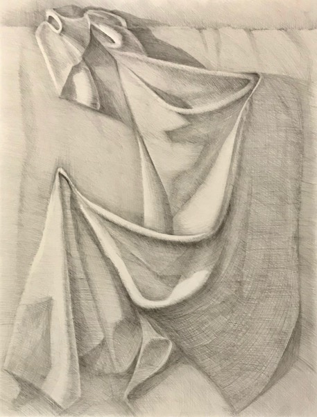 Larissa Lukaneva. Drapery