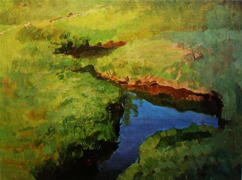 Konstantin Somov. Creek