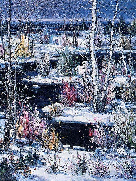 Тинуан Чен. Спокойствие зимы