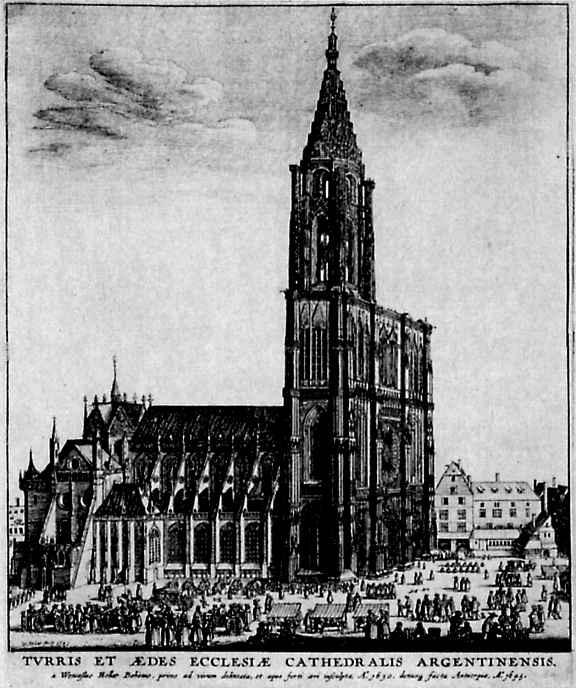 Венцель Холлар. Страсбург