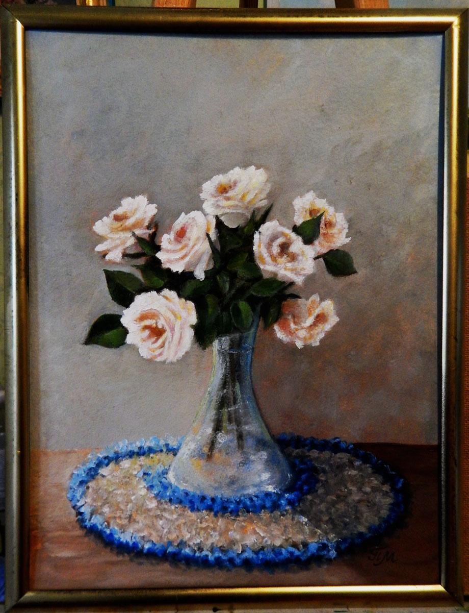 Marina Vladimirovna Patrikeeva. Delicate bunch of roses