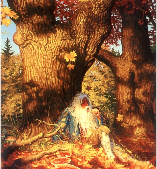 Грег Хильдебрандт. Осень