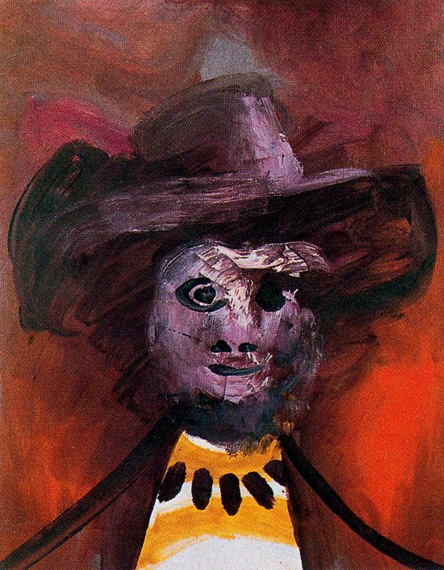 Пабло Пикассо. Бюст мужчины в шляпе