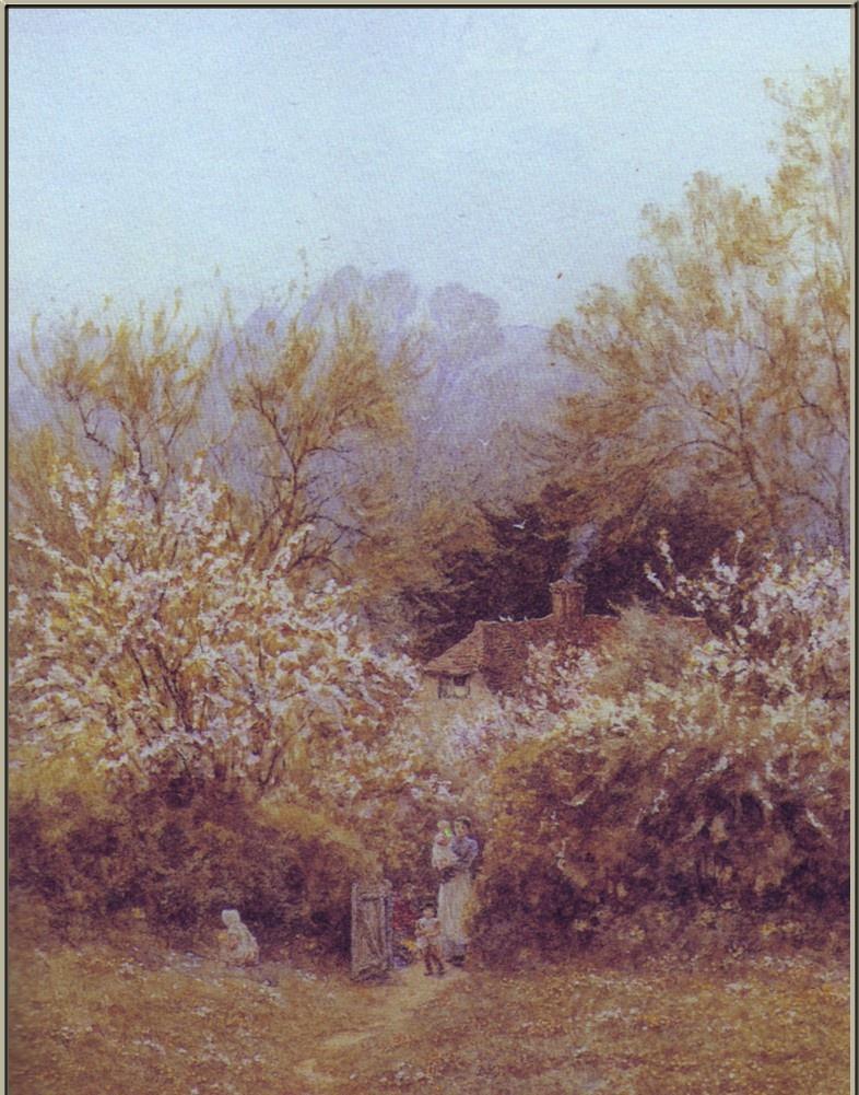 Артур Клод Стречен. Весеннее цветение