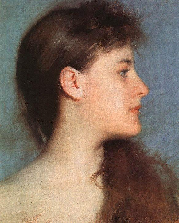 Эдмунд Тарбелл. Женский профиль