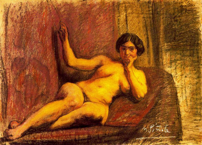Nikanor Pinol. Naked woman