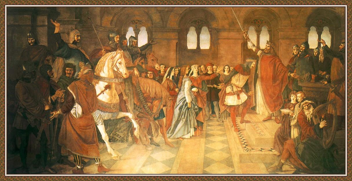 Уильям Дайс. Рыцарь