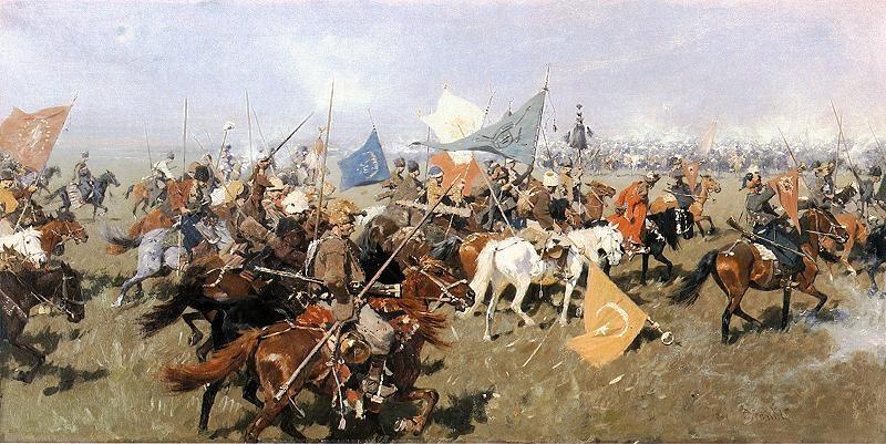 Картинки по запросу «Возвращение казаков» Йозеф Брандт