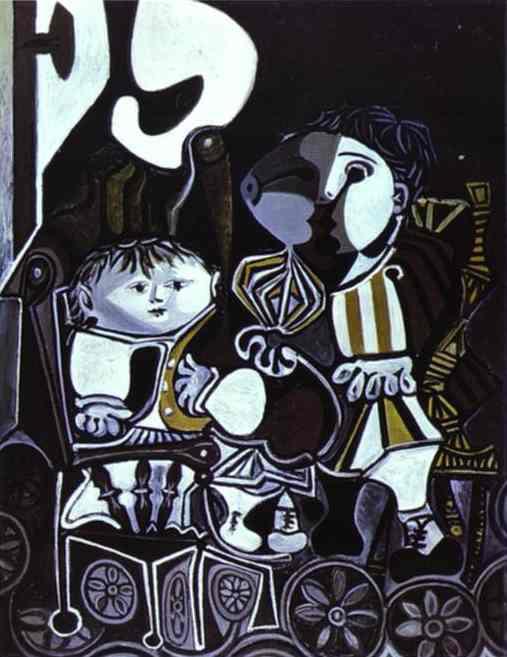 Пабло Пикассо. Палома и Клод