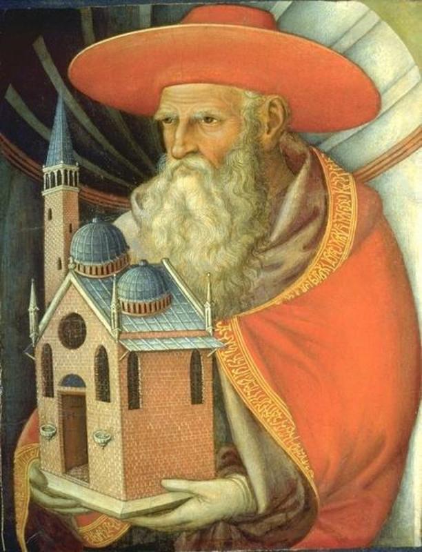 Jacopo Bellini. Saint Jerome