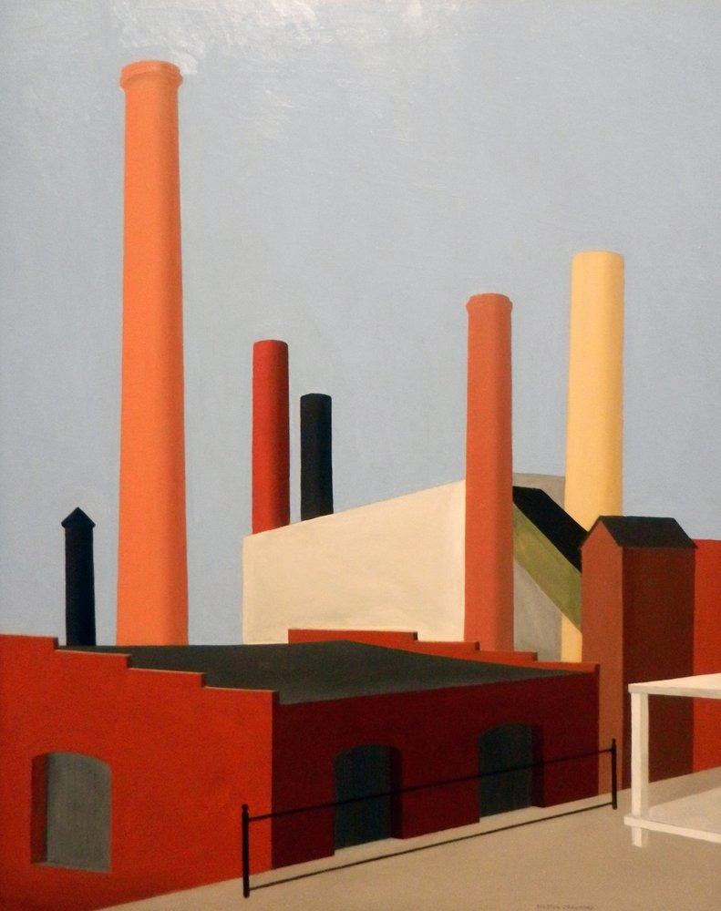Ralston Crawford. Buildings