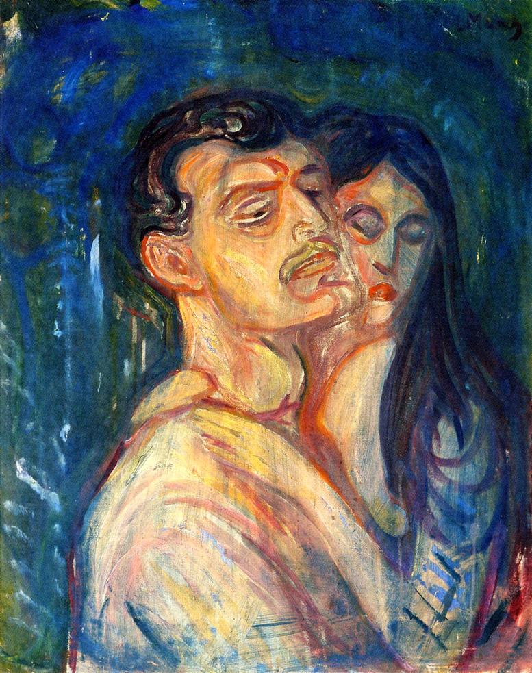 Edvard Munch. Head by Head