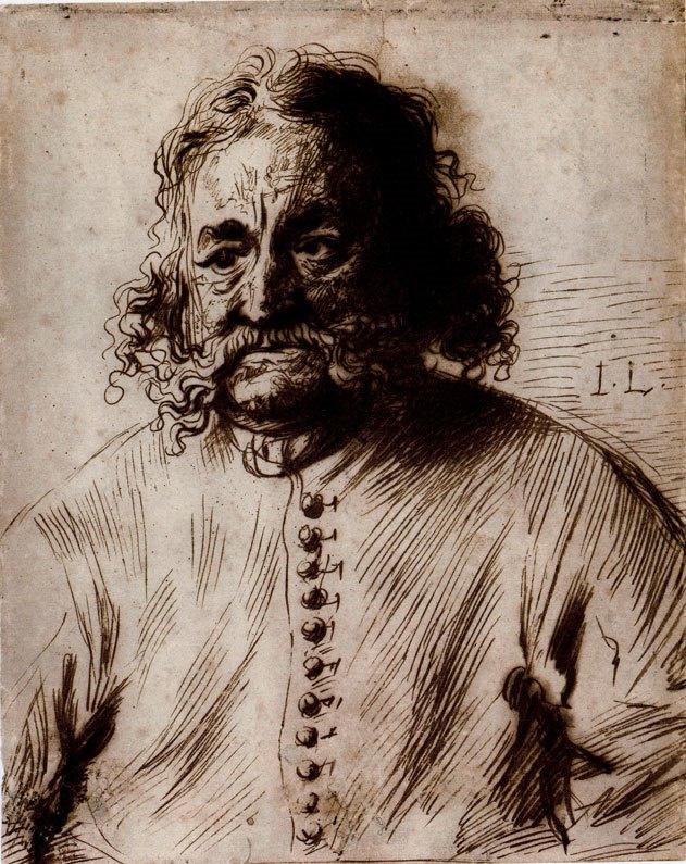 Jan Lievens. Portrait Of Jan Franken