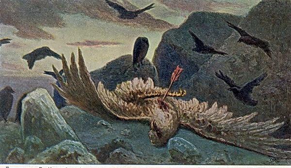 Вильгельм Александрович Котарбинский. Смерть орла