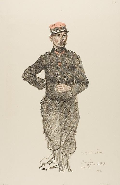 Theophile-Alexander Steinlen. Legionnaire