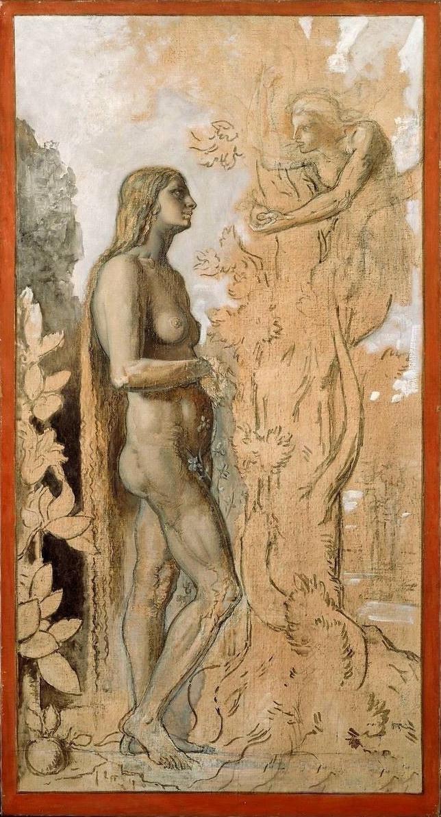 Gustave Moreau. Eve