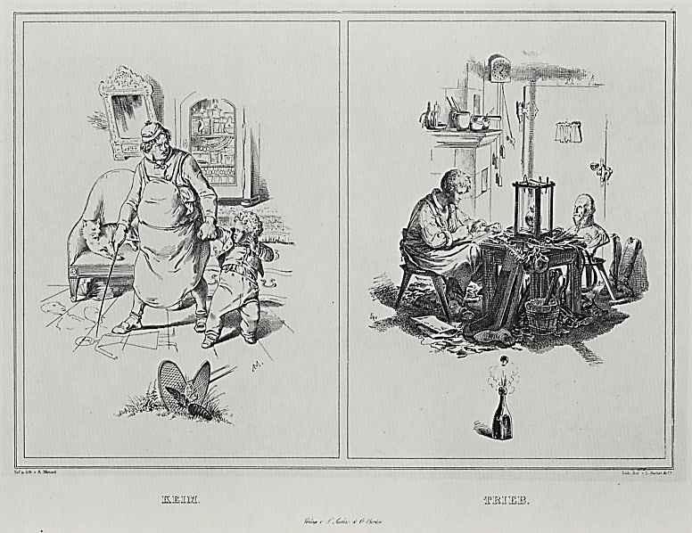 Адольф фон Менцель. Росток  и Побег