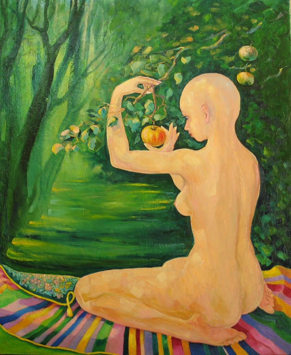 Valentin Nikolaevich Sudnitsyn. Apple for indigo
