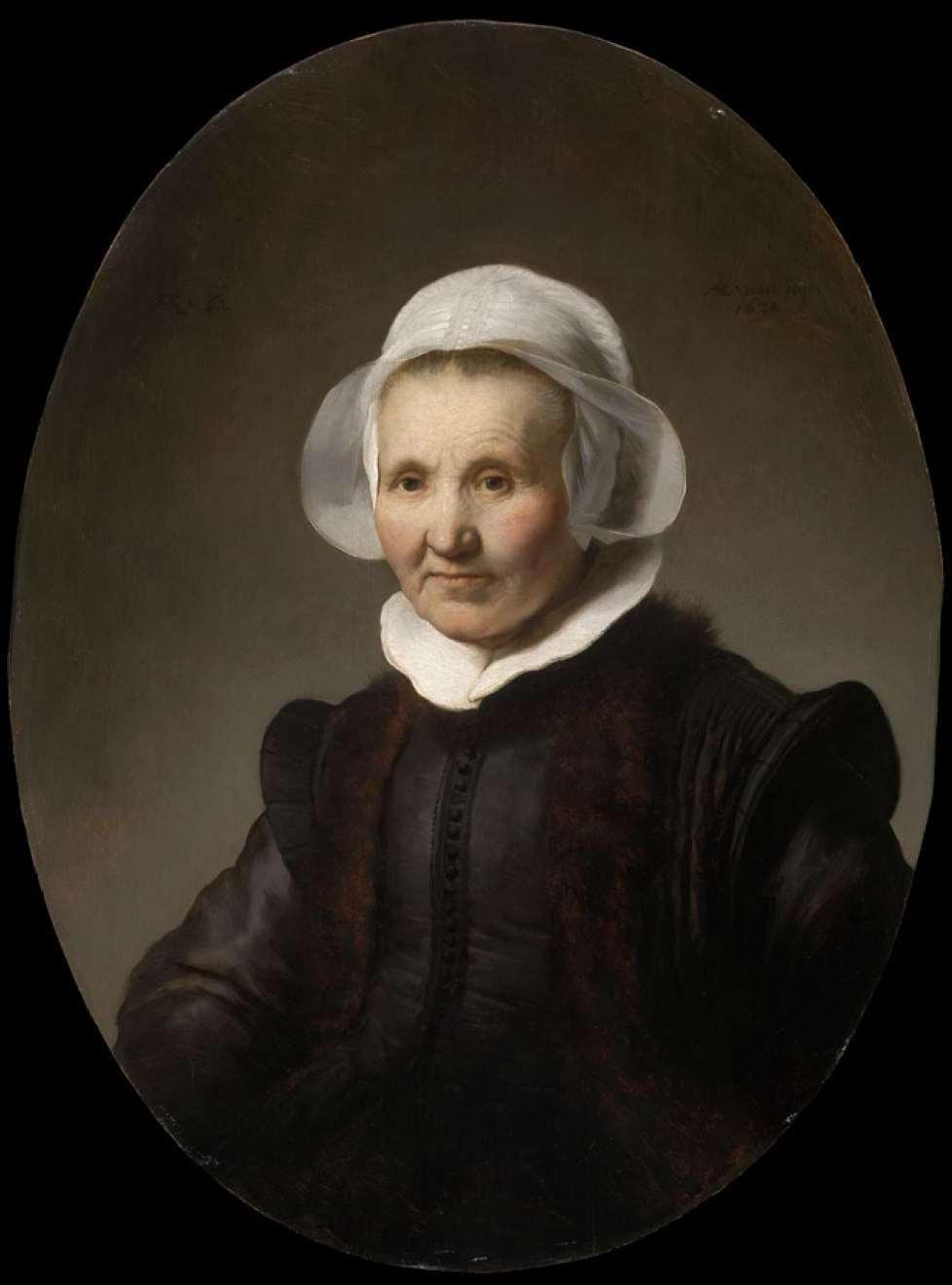 Rembrandt Harmenszoon van Rijn. Portrait of Aeltje Pietersdr. Uylenburgh