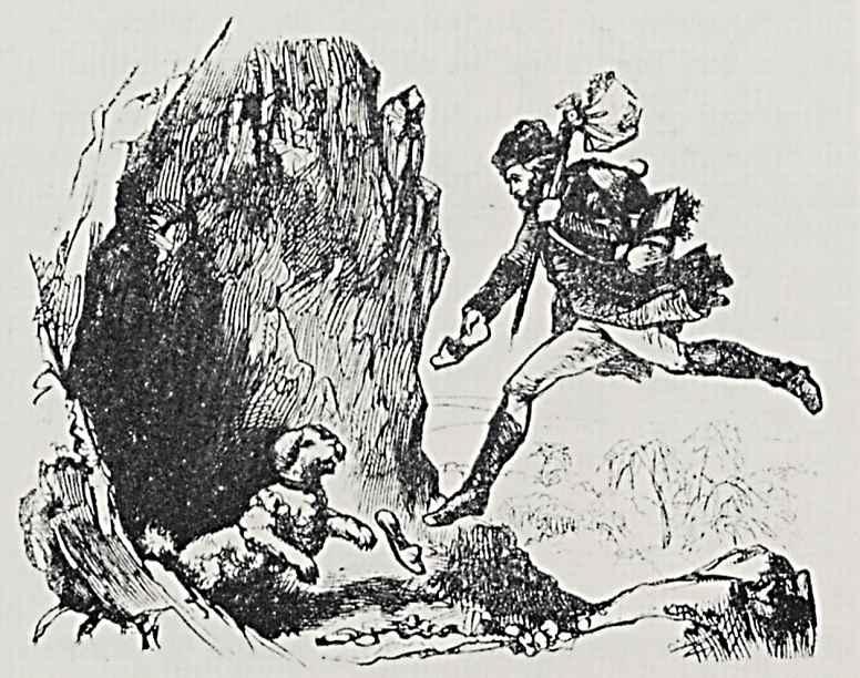 """Адольф фон Менцель. Иллюстрации к книге """"Необычайная история Петера Шлемиля, рассказанная Адельбертом фон Шамиссо"""""""