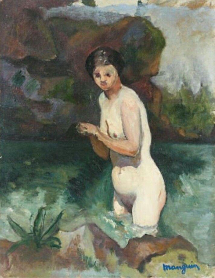 Henri Manguin. Jeanne Nude in water