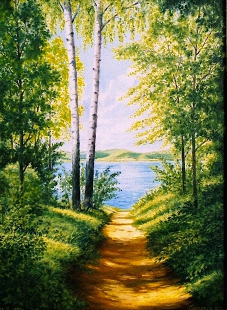 Yuri Nikolaevich Savelyev. Path to the Volga