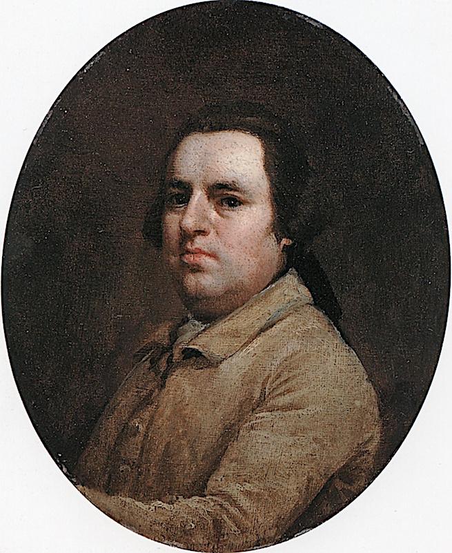 George Stubbs. Self-portrait