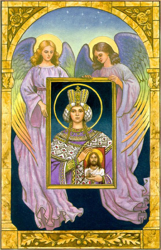 Рут Сандерсон. Ангелы