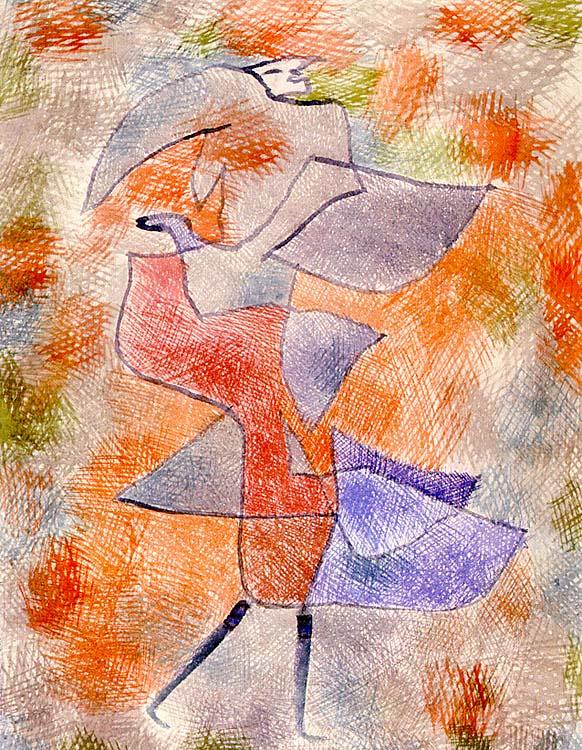 Paul Klee. Autumn wind