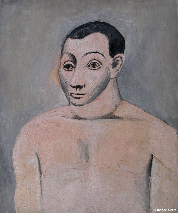 Пабло Пикассо. Автопортрет