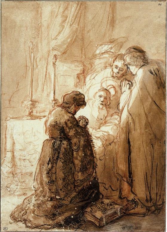 Ян Ливенс. Введение Христа во храм