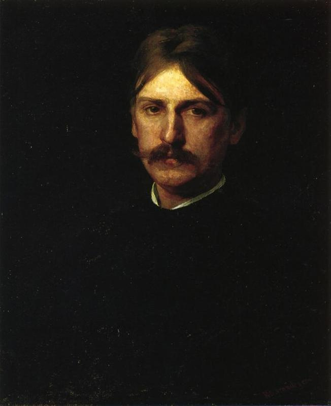 Thomas Eakins. Portrait of a traveller Montague Flagga