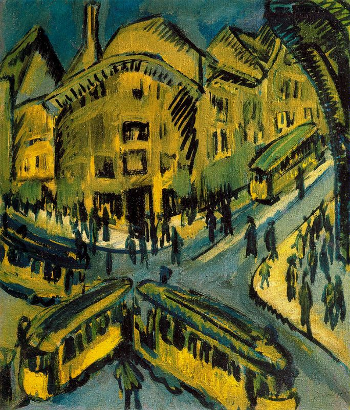 Ernst Ludwig Kirchner. Nollendorfplatz in Berlin