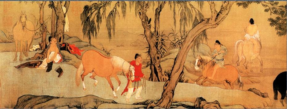 Чжао Мэн Фан. Пейзаж 038