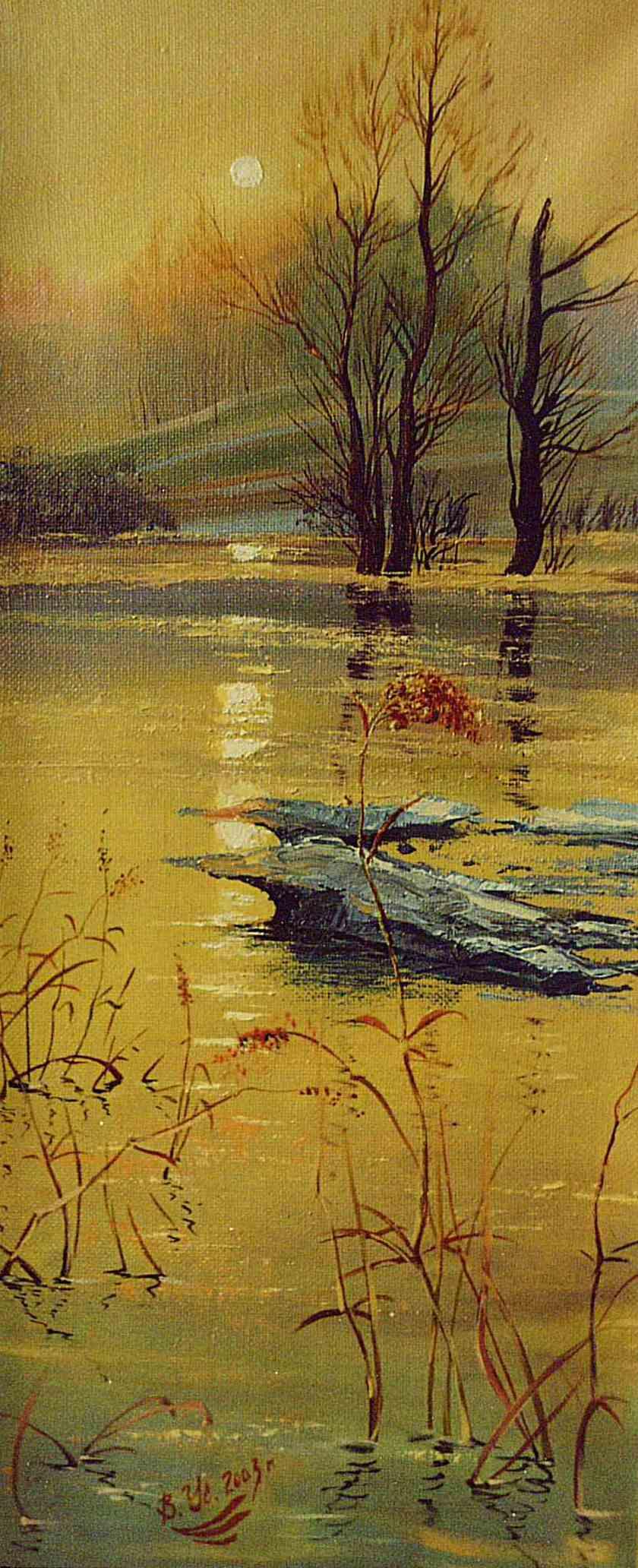 Vladimir Ustalov. Gold of cold spring