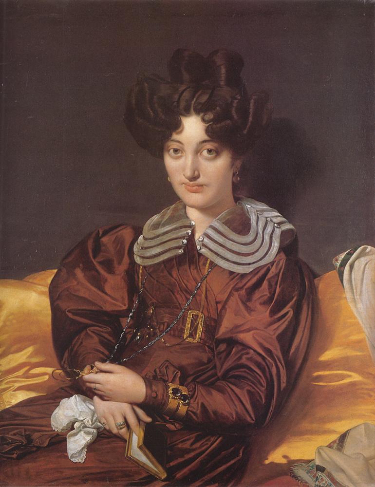 Жан Огюст ДоминикЭнгр – французский живописец и рисовальщик