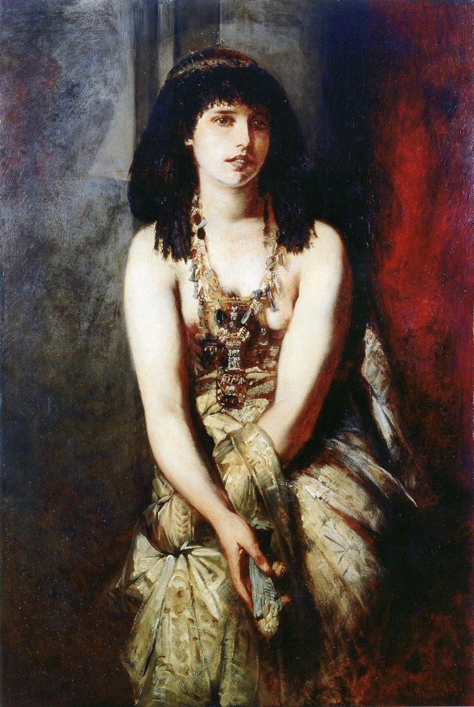 Hans Makart. Egyptian Princess
