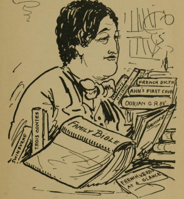 Aubrey Beardsley. Oscar Wilde at Work