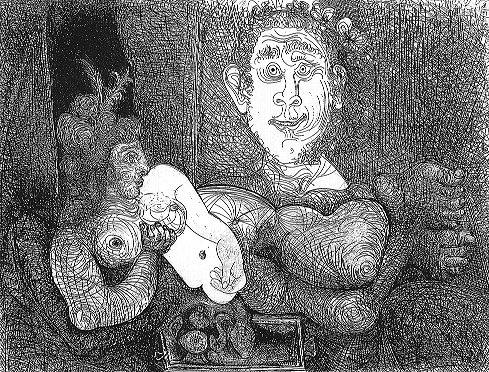 Пабло Пикассо. Без названия