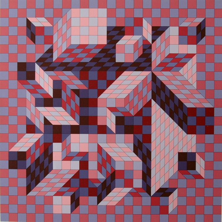 Victor Vasarely. Guiva